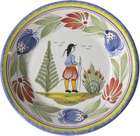 Miniature Plate - Man - Tradition