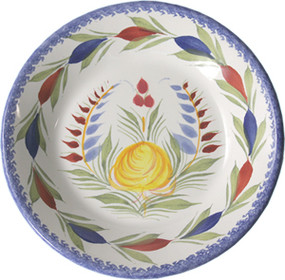 Miniature Plate - Fleuri Royal