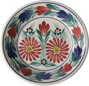 Miniature Plate - Fleuri