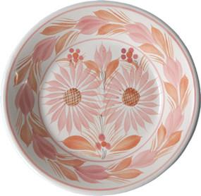 Miniature Plate - Camaieu Pink