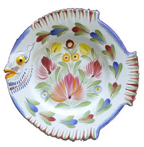 Fish Plate - Fleuri Royal