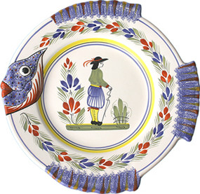 Fish Plate - Henriot