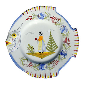 Fish Plate - Tradition