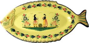 Fish Platter - Soleil Yellow