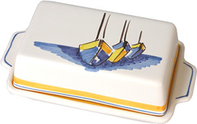 Covered Butter Dish - Escale