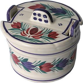 Round Butter Tub - Fleuri