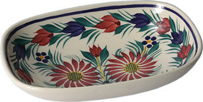 Open Butter Dish/ Soap Dish - Fleuri