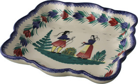 Square Serving Dish - Campagne