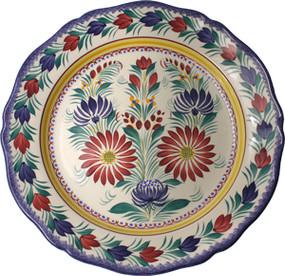 Deep Round Platter - Fleuri