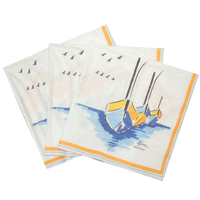 Paper Napkins Luncheon Escale - IN STOCK
