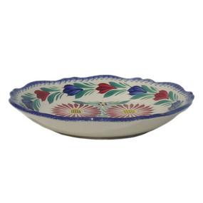 Fluted Soup Plate - Fleuri