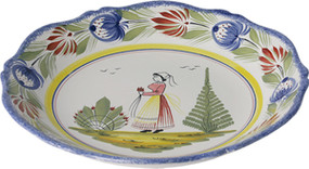 Fluted Soup Plate - Tradition