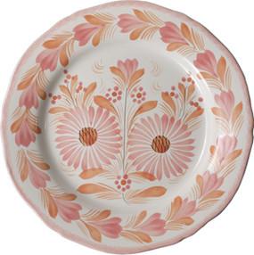 Fluted Plate - Camaieu Pink