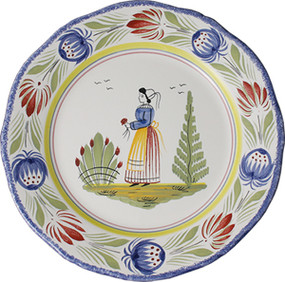 Fluted Plate - Tradition