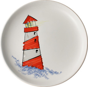 Plate - Lighthouse