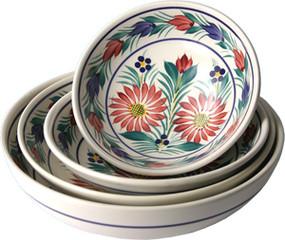 Serving Bowl - Fleuri