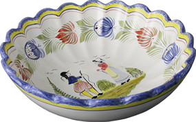 Scalloped Serving Bowl - Tradition