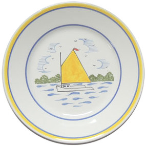 Round Plate - Rainbow Fleet - IN STOCK