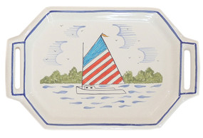 Quimper Tray - Rainbow Fleet
