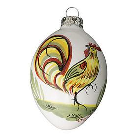 Quimper Ornament Coq - Decor Spirit of Christmas