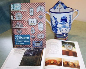 """BOOK """"Collecting Quimper"""" By Joan Datesman"""