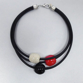 Necklace - Catalina Red/White/Blue