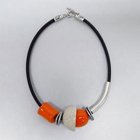 Necklace - Coblence Orange