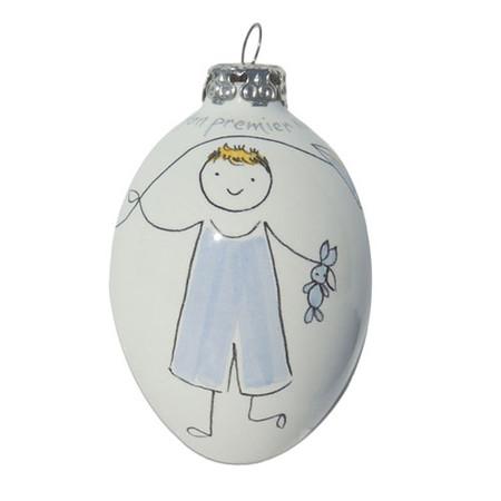 Ornament Baby's 1st Xmas - Boy