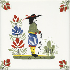 Man - Henriot Tile