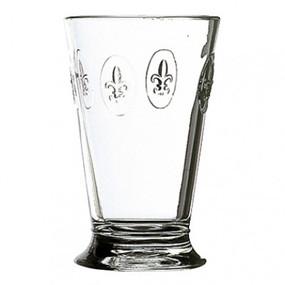 Ice Tea Glasses - Fleur de Lys - Set of 6 -  La Rochere