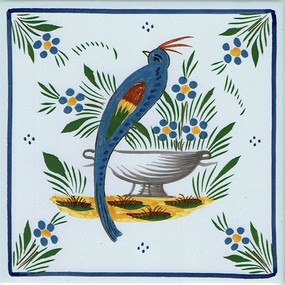 Bird - Jardin d'ete Tile