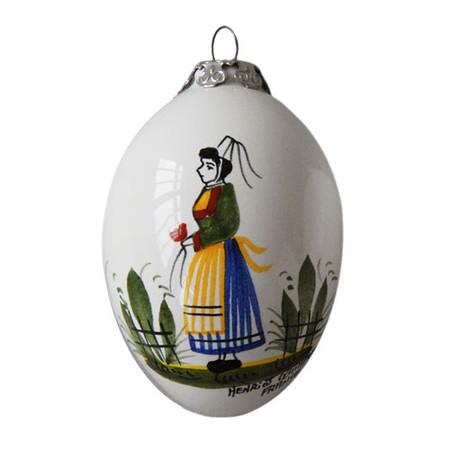 Quimper Christmas Ornament Breton Woman