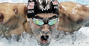 MP Michael Phelps Swimming Goggles