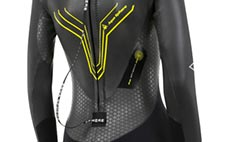Bio Stretch Zone on Womens Pursuit Wetsuit