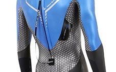 Bio Stretch Zone on Racer Tri Wetsuit
