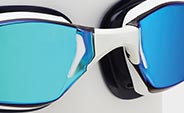 MP Michael Phelps Xceed Swimming Goggles Nose Bridge