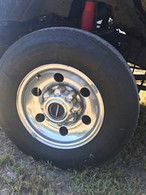 16in. Bullethole Style Ford Superduty Wheels