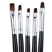 MO Nails Gel Brushes (Set of 5)