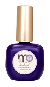 Now... the luxury of silk at your fingertips with MO Nails Matte Color Gel! A rich matte finish lacquer, Comes in 12 bold modern shades, Dries in 30 seconds under a LED light or 2 min under a UV light.