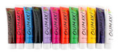 12 tubes Oumaxi Paints each containing 12ml of paint, Comes in 12 amazing strong colors, Multi-surface 3D paints for brilliant nail designs.