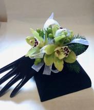Cymbidium Orchid Wrist Corsage -Pick Up Only