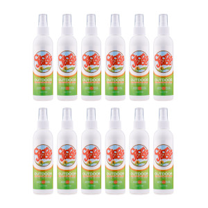 Twelve 6oz Eco-spray bottles