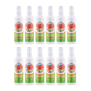 Twelve 6oz Eco-spray bottles