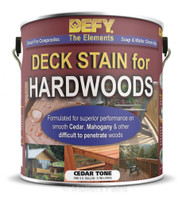 DEFY Deck Stain for Hardwoods 1 Gallon