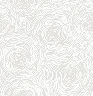 Celestial Taupe Floral Wallpaper