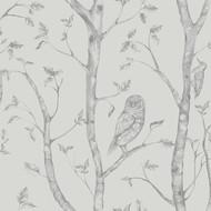 Neptune Grey Forest Wallpaper