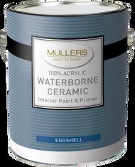 Mullers Ceramic Eggshell Paint