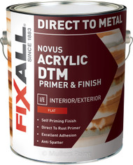 Novus Acrylic DTM Direct to Metal Flat Primer & Finish