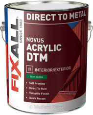 Novus Acrylic DTM Direct to Metal Semi Gloss Paint
