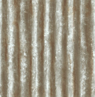 Corrugated Metal Grey Industrial Texture Wallpaper